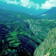 Al barranco del río Lanjarón
